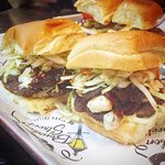 N'Awlins Burger slider