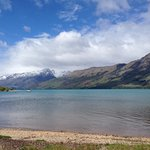 View of Wakatipu, just steps from our back door