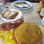 Pancakes & Eggs over Easy !!