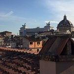 Piazza di Venezzia from the Minerva roof top