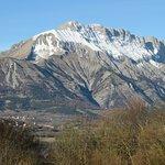 Vue sur les montagne