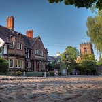 The Ram's Head Inn in beautiful Grappenhall village