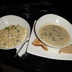 Do not forget to order the mushroom soup