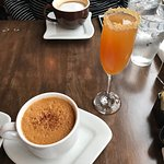 Hot Apple Toddy and Apple Cider Mimosa