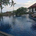 Infinity pool overlooking Chalong Bay.
