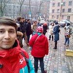 Riga, near Saint Peter's Church, 12:00 - Riga Free Walking Tour with Anna Turoka, as a tour guid