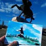 Generalissimo Suvorov monunent, postcards and free tour at dendemarchenko.blogspot.com