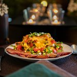 Mexican Lasagna for Breakfast!