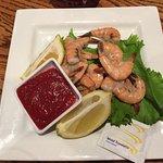 Peel em and eat em shrimp platter