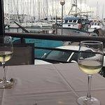Un buen vino con un buena vista!!!