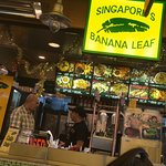 Having lunch today at Banana Leaf. Paratha, mee goreng and nasi goreng. Good price and delicious