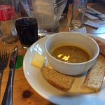 Soup - As it was served (not a lot !)