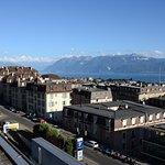Vue en direction de l'Est (Haut Lac, Bouveret, Valais, Haute-Savoie)