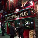 exterior of friendly bar