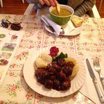 Meatballs for me, and Troll soup for my wife.