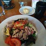 Grilled Tuna Mediterranean Salad--amazing!