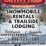 Snowmobile rentals and tours from our partner Northwoods Outfitters