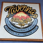 sign for Taverna