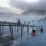 About 10am at the Blue Lagoon