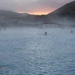 Sunrise at the Blue Lagoon