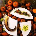Octopus & heirloom tomato