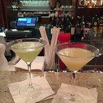 Pear martini & jalapeno martini
