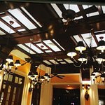 The Restaurant ceiling - copied from the original Building Plans