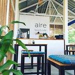 Our open air beach cafe