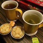 Provviste di tè in camera, sempre nuove ogni mattina.