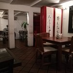 Inside the Restaurant (before opening hours)