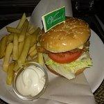Vincent's fish burger