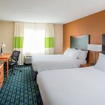 Queen/Queen Room | Fairfield Inn & Suites Fargo