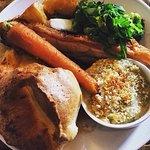 Sunday lunch at the Halsetown Inn