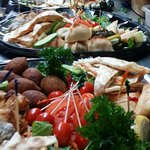 ,Decorate your table with a delicious platter from Chef Abod