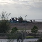 my sea view ( nice derelict water park )