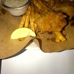 Lopsided Pic of Fish & Chips