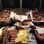buffet petit déjeuner - pains et beurres, margarine