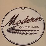 Modern on the Rails decked out for the Holidays!