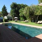 De Bergkant view of pool
