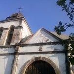 Iglesia de la ex hacienda de Nogueras, se encuentra ubicada a un costado del museo.