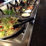 Buffet and salad bar