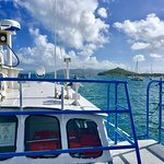 Virgin Islands Ferry - Red Hook Foto
