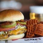 Drake's Cheddar Burger