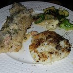 Red Snapper and potatoes with Veggies........ yum yum