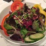 Salat zum Mittagsmenü