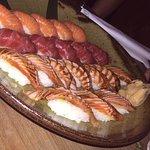 Tuna & salmon Nigiri