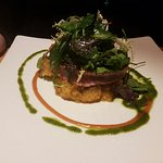 mega leckerer Thunfisch auf Süßkartoffelstampf