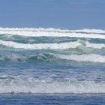 Pounding seas