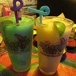 Frozen Margaritas (Blue Raspberry & Mango)