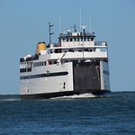 Car ferry coming in from Hyannis